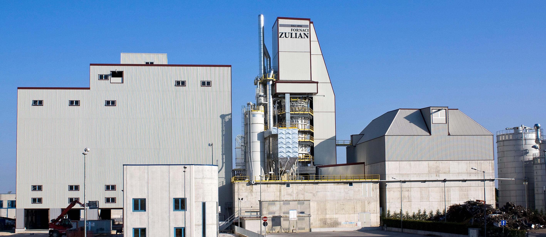 Impianto produttivo Fornaci Zulian